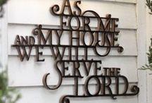 Feels Like Home / Home decor signage / by Amber V Hammond | Designer