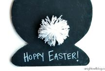 Here Comes Peter Cottontail / Easter / by Amber V Hammond | Designer
