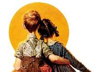 Rockwell / A tribute to the greatest American commercial artist of the first half of the 20th C. / by Steve Parker