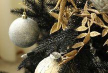 Christmas~a blAcK  & GOLd ChRiSTmAs