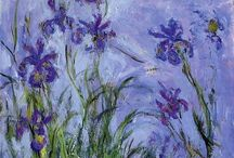 """~MONET~ / """"What keeps my heart awake is colorful silence.""""  ― Claude Monet"""