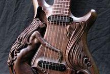 Hudební_nástroje / Housle_Kytary_atd