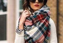 Scarf Styles / If there's one accessory we always have on hand once the temperatures fall, it's a soft and cozy scarf.