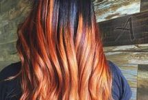 Copper Balayage Hairs / With all the new hair trends floating around, it is hard to keep up. Copper Balayage has been popular for some time and it looks like it's here to stay.