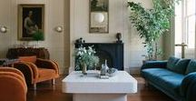 Modern Traditional Home Decor / Traditional and classic homes with updated modern interiors and decor details.
