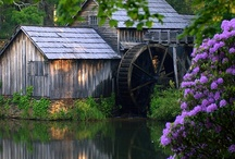 Old barns and covered bridges and churchs / by Karma Couture