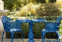 Garden art & Bird houses / Creative garden idea  / by Karma Couture