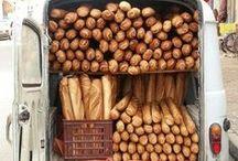 Boulangerie / Mouthwatering baguettes and fougasses from our Boulangerie classes at La Cuisine Paris.   Find out more about our classes here - http://lacuisineparis.com/content/bread-baking-classes-in-paris.