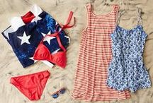 4th of July / Celebrate Independence Day and show off your individual style with Aerie red, white and blue! / by Aerie