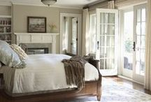 Bedrooms & Closets / Our sanctuaries ~ where we begin and end our day...