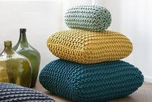 Knits&Crochets: Coses per casa