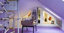 Kids' Heaven / A converted attic provides a fun playground with space for sleeping, reading and drawing.