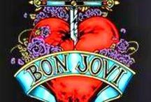 Bon Jovi / Jon, the band & their music / by Dee Creations