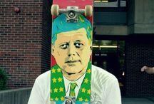 Decks / Skateboarding doesn't make you a skateboarder.  Not being able to stop skateboarding make you a skateboarder.