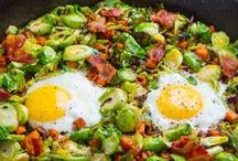 *Brussels sprout recipes* / With every kind of recipe you can think of using Brussels Sprouts, from soups to salads; paired with bacon; or smothered in cheese, you WILL find a recipe here to convert the sprout haters!