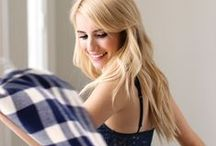 "Emma Roberts is #AerieREAL / ""Just me, in clothes I feel good in."" / by Aerie"