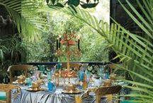It's a Jungle Out There / Lush, verdant botanicals and vibrant jungle motifs will turn your home into a stylish Garden of Eden.