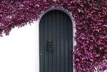 DOORS AROUND THE WORLD / portas * puertas * portes * Türen  * Uşăs * entries * entradas * Eingangs * gates * portãos * poartas * openings * ouvertures * portals  / by Tere Sa