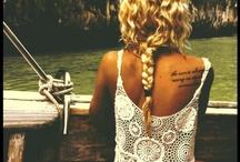 Snapbacks & Tattoos / by Morgan Parker