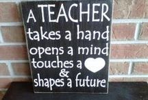 Teacher Inspiration / Inspirational quotes, sayings, posters for teachers