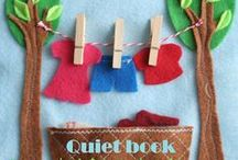 Quiet books-church bag ideas