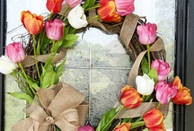 Wreaths and Door Decor / by Audre Taylor
