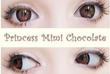 Brown Colored Contacts / by UNIQSO
