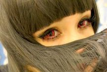 Red Colored Contacts / by UNIQSO