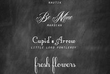 Fonts / by Kelly Smith