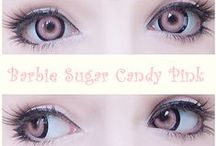 Pink Colored Contacts