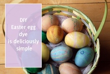 Easter Gone Green / A place to share DIY, green living, waste-free Easter inspiration.