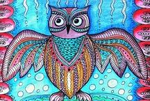 Owls in Art