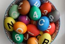 easter eggs / easter eggs decoration tutorials, easter basket ideas / by Urban Crusing