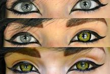 Gold Colored Contacts / by UNIQSO