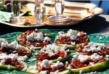 Appetizers / I always think there will be plenty of time to whip up something absolutely phenomenal when I offer to bring an appetizer someplace...I've had some flops (ha) but the appetizers here have proven to be pretty reliable...
