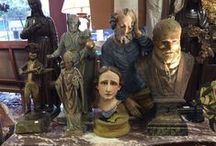 Religious Artifacts & Items / We are drawn to religious items when we shop.  Here are a few of our offerings.