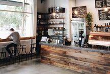Example Brand Inspiration Board / Reverse Engineered Brand Inspiration Board using Starbucks Coffee