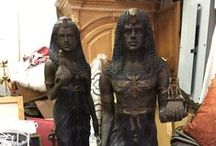 Statuary / All things having to do with figural statues.  Marble, bronze, stone, terra cotta....you'll find it here!