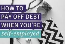 pay off debt / I paid off $14,000 of debt in just over year. Learn how you can pay off your debts and become debt free too! / by Carrie Smith | Financial Organization Expert