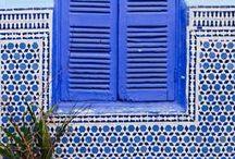 Cobalt/indigo blue/navy inspiration / shades of blue cobalt, indigo, navy