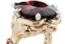Rapturous Ring Rhapsody! / Statement Rings!  Elegant.  Big.  Funky.  Incredible.  Crazy.  Always a statement! / by Anna M. Navarro