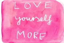 Self Care for Trauma Survivors / I need reminders to take better care of myself, and to know that self care is anything but selfish. It's a work in progress!