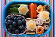 FOOD | Kid's Lunch & Snack Ideas / by Brinda Howard