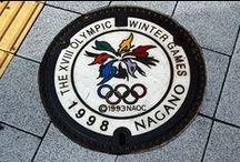 Japanese Manhole Cover Art