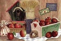 Country and Folk Art / by Debbie Weber