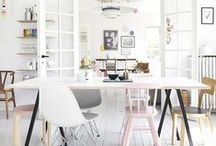 Dining room inspiration / Ideas for redecorating our dining room