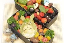 Edible Totoro  / Totoro and studio Ghibli food collected creations