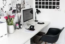 Workspace / Beautiful and minimal workspace ideas. Places that are design led and creative, perfect for home offices that are creative and functional while always being stylish.