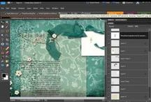 Digital Art, Digital Scrapbooking, Art Journaling, / Digital Scrapbooking Tutorials for Photoshop and Photoshop Elements; Digital Art Inspiration; Art Journaling Techniques; Doodling and Lettering, Fonts