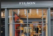 Filson Store / Filson approached Popstore to help bring their first UK store to life. Working to a tight deadline to complete store designs, source all materials and build, Popstore worked with Filson USA and architects in Holland.